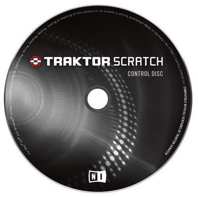 Native Instruments Traktor Scratch Pro Control CD