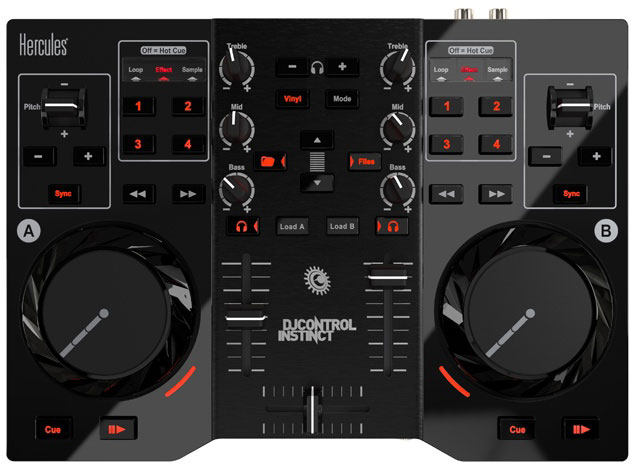 Máy DJ Mini Hercules DJ Controller