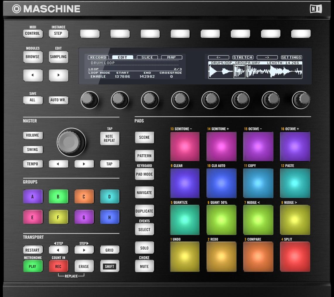 Native Instruments Maschine MkII Black