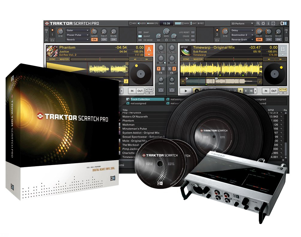 DVS-системы  Native Instruments Traktor Scratch Pro