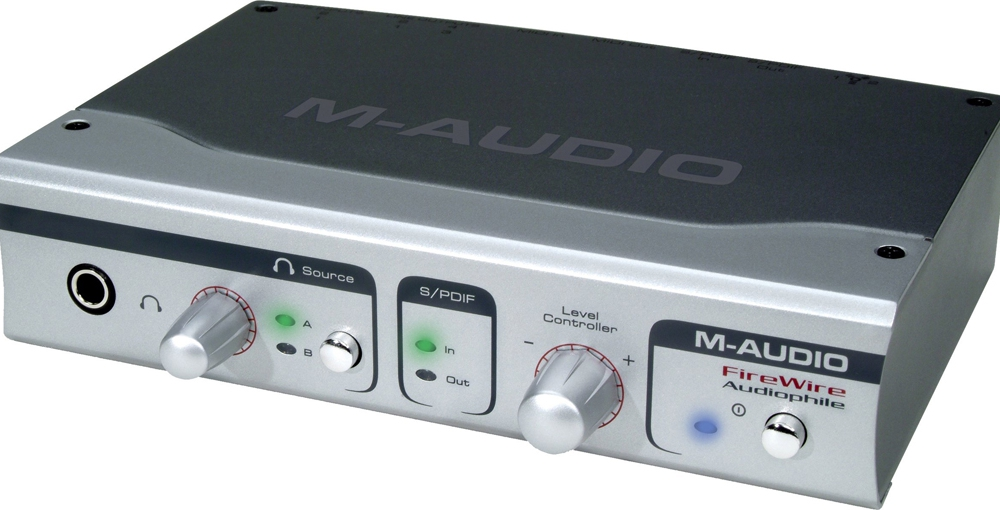 Звуковые карты M-Audio FireWire Audiophile