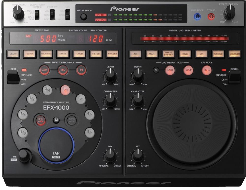 Эффекторы Pioneer EFX-1000