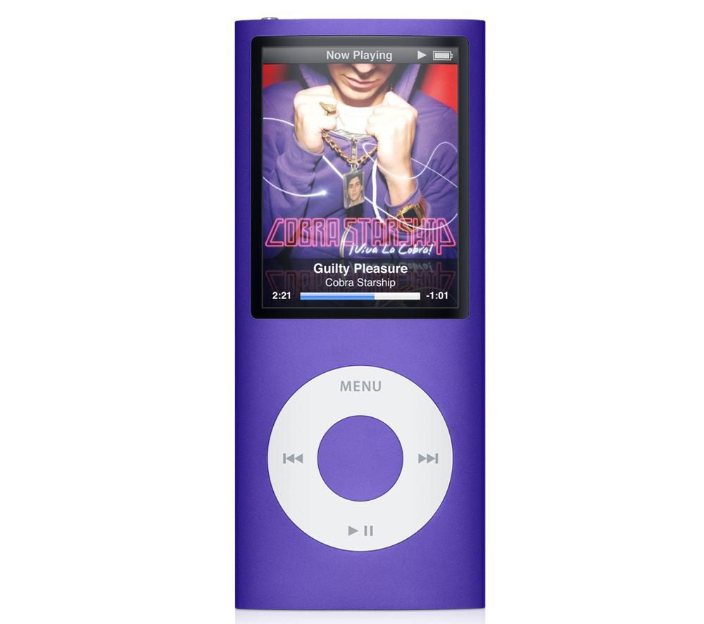 iPod nano Apple iPod nano 16Gb purple MB909 (4Gen)
