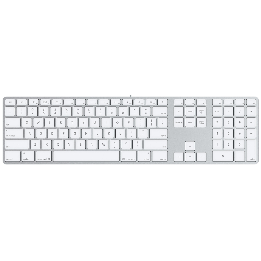 Apple accessories  Apple Keyboard (aluminium) MB110
