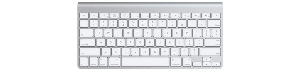 Apple accessories  Apple Wireless Keyboard (aluminium) [MB184RS/A]