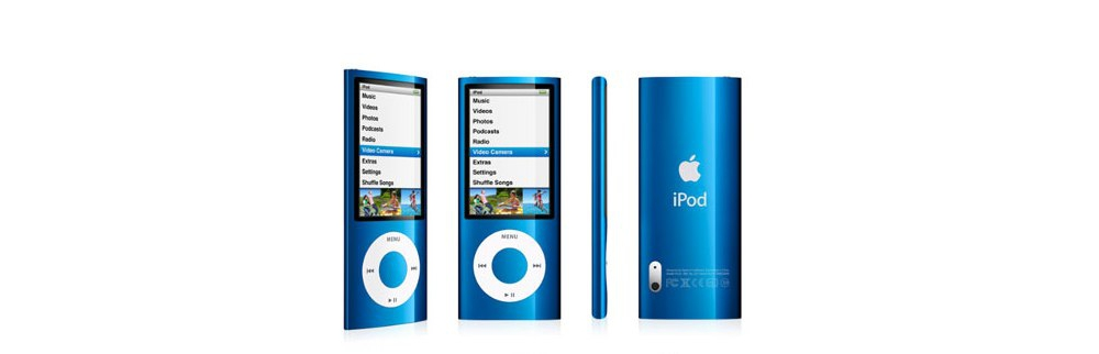 iPod nano Apple iPod nano 8GB Blue (5Gen) MC037