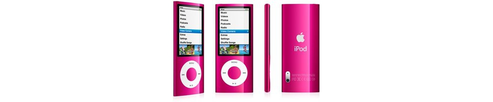 iPod nano Apple iPod nano 8GB pink (5Gen) MC050