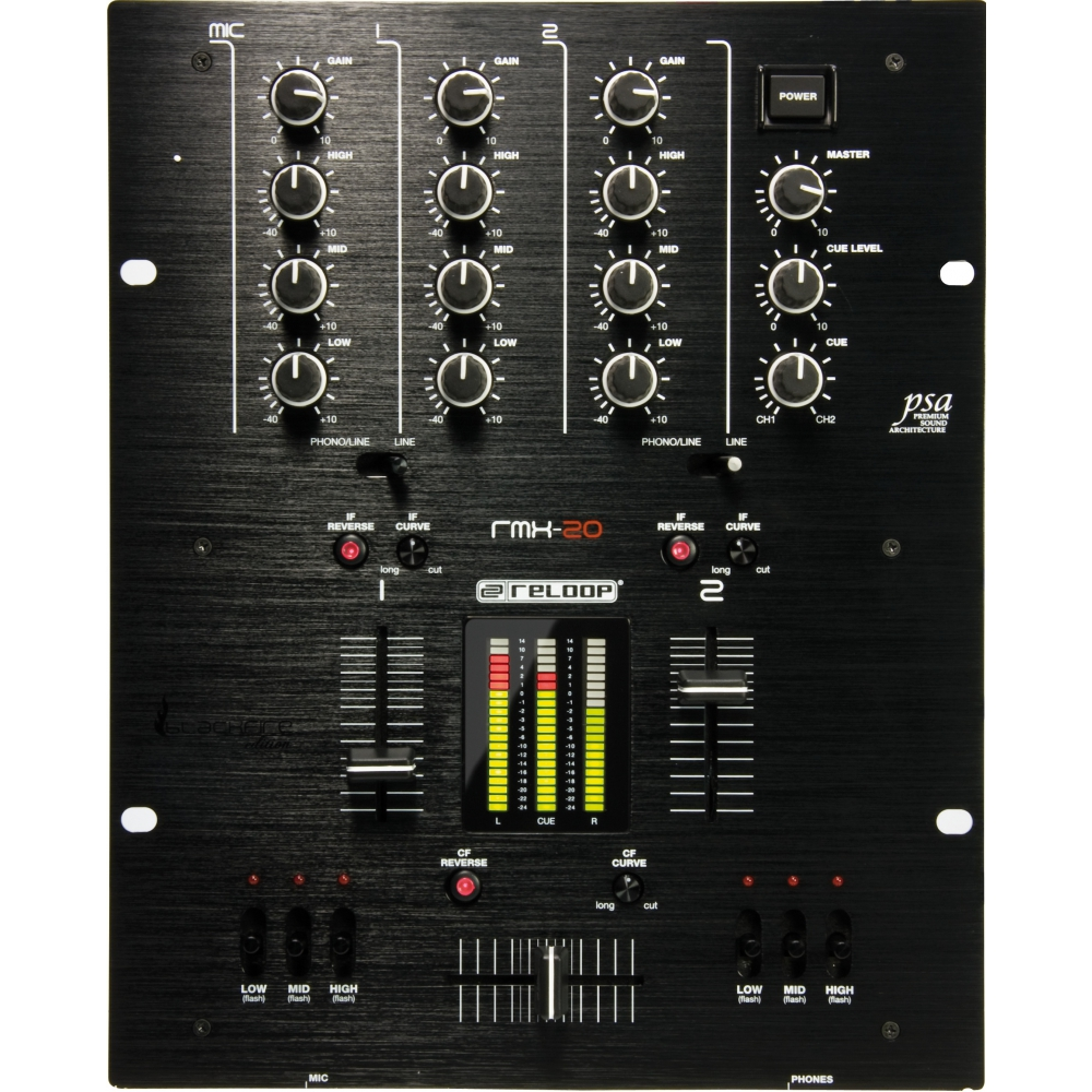 DJ-микшеры Reloop RMX-20 Black Fire Edition