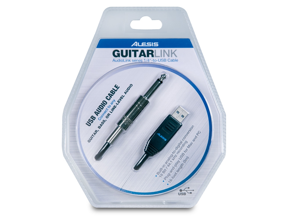 Аудио конверторы, рекордеры Alesis Guitar Link plus