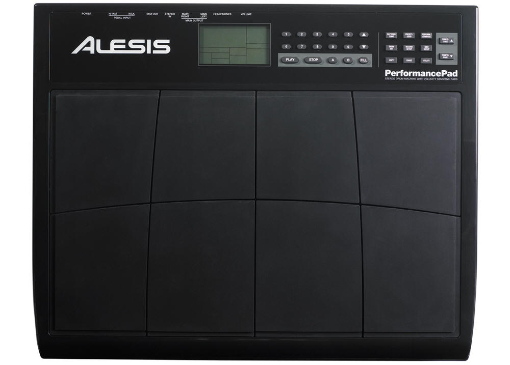 DJ-контроллеры Alesis Performance Pad