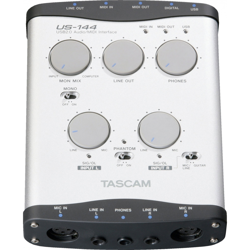 �������� ����� USB/Thund. Tascam US-144