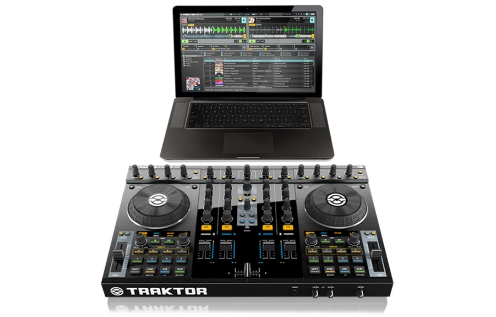 DJ-контроллеры Native Instruments Traktor Kontrol S4