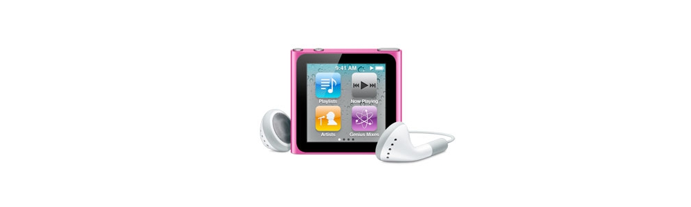 iPod nano Apple iPod nano 16Gb - Pink [MC698]