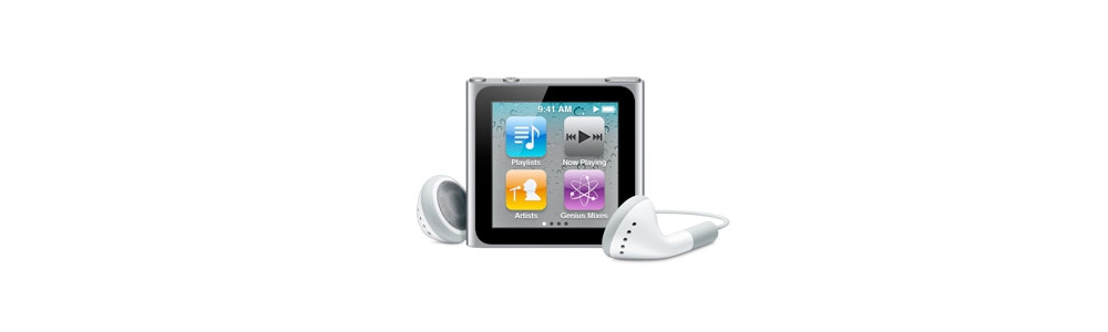 iPod nano Apple iPod nano 16Gb - Silver [MC526]