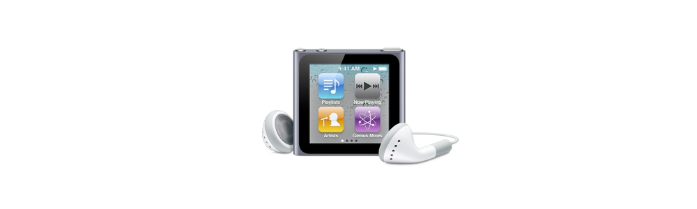 iPod nano Apple iPod nano 16GB - Graphite [MC694]