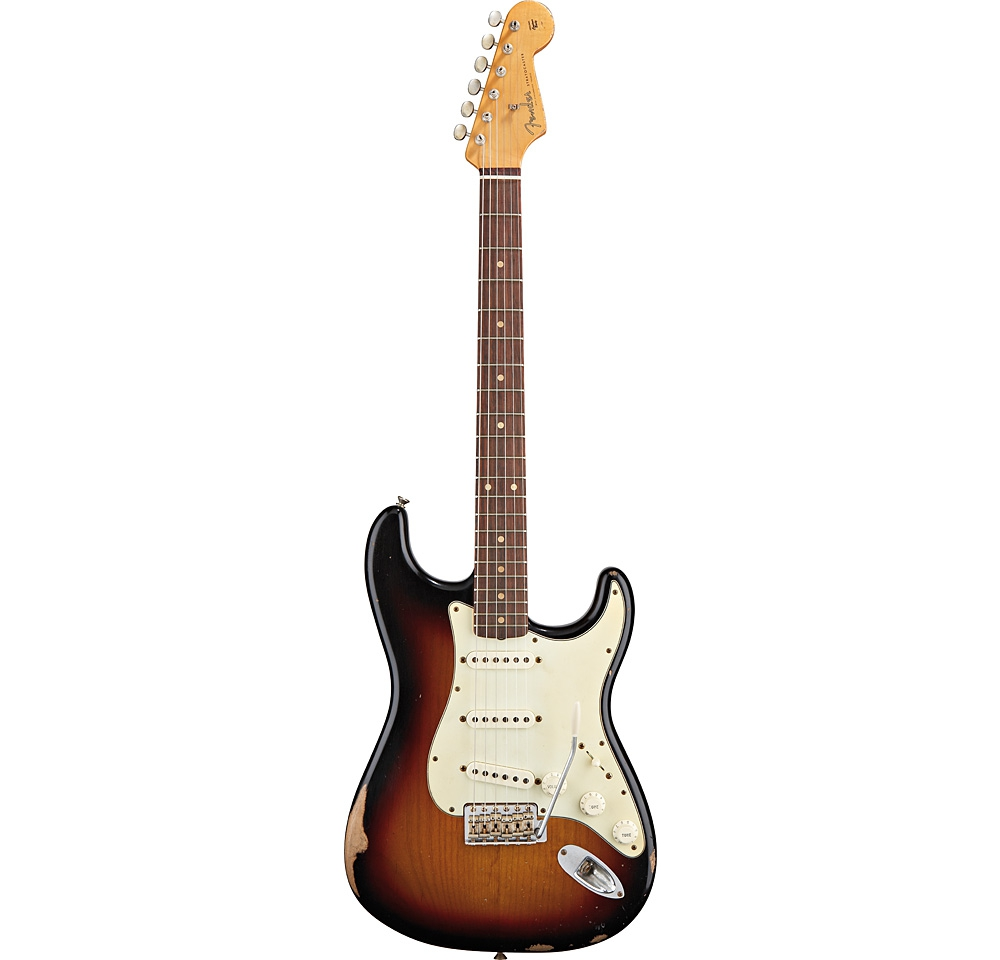 ������ � ������������ Fender 60�S CLASSIC PLAYER STRATOCASTER RW CUSTOM PALE 3-COLOR SUNBURST