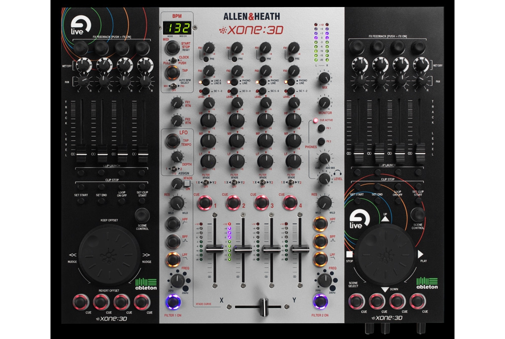 DJ-������� Allen & Heath Xone:3D
