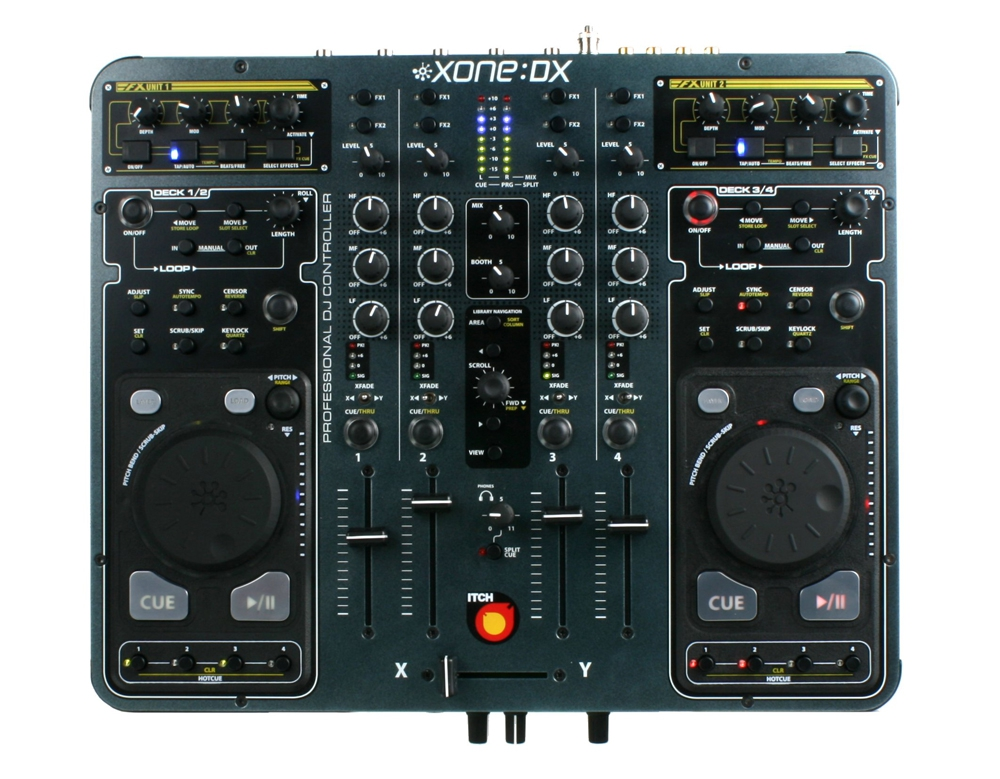 DJ-контроллеры Allen & Heath Xone:DX
