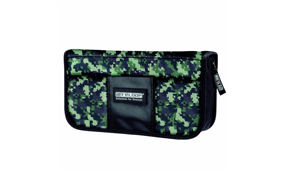 Папки для дисков Reloop CD Wallet 96 camouflage