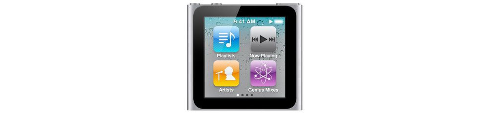 iPod nano Apple iPod nano 8GB Silver [MC525QB/A]