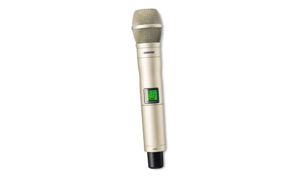 Все Микрофоны Shure UR2KSM9BK / SL