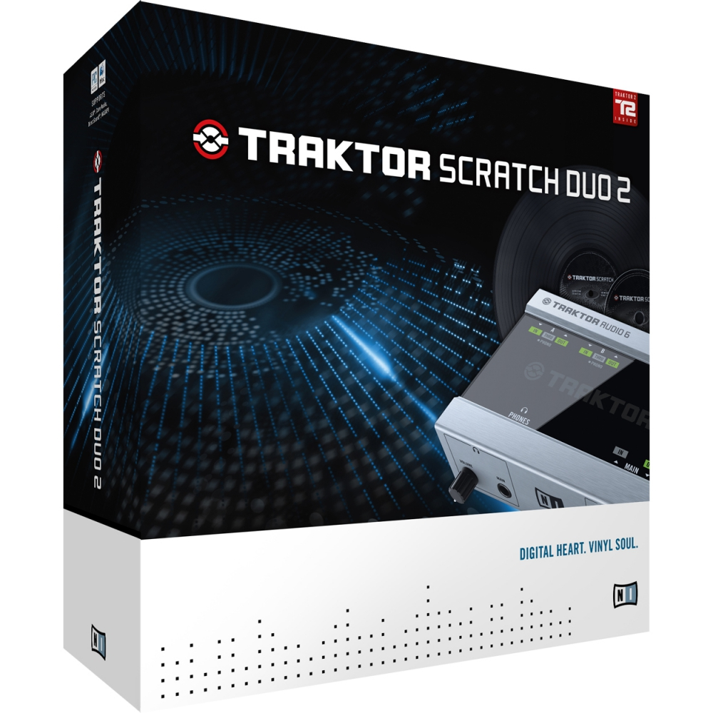 DVS-системы  Native Instruments Traktor Scratch Duo 2