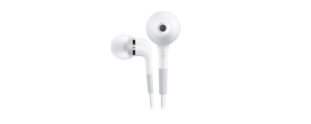 Apple accessories  Apple Наушники+ДУ Apple In-Ear Headphones with Mic [MA850G/B]
