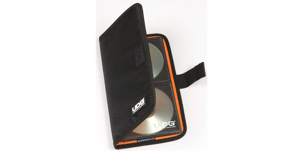 Папки для дисков UDG CD Case 24 Black/Orange
