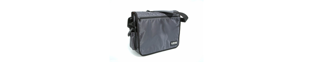 Сумки для пластинок UDG CourierBag Steel Grey/Orange inside