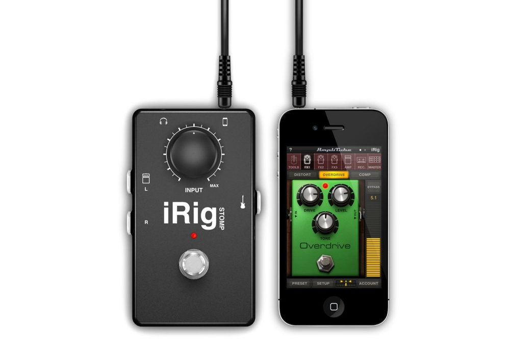 Apple accessories  IK Multimedia iRig STOMP