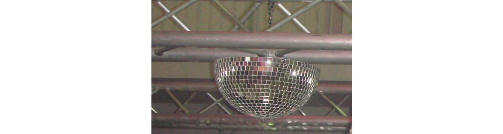Зеркальные шары Ds-light Полусфера 140 cm