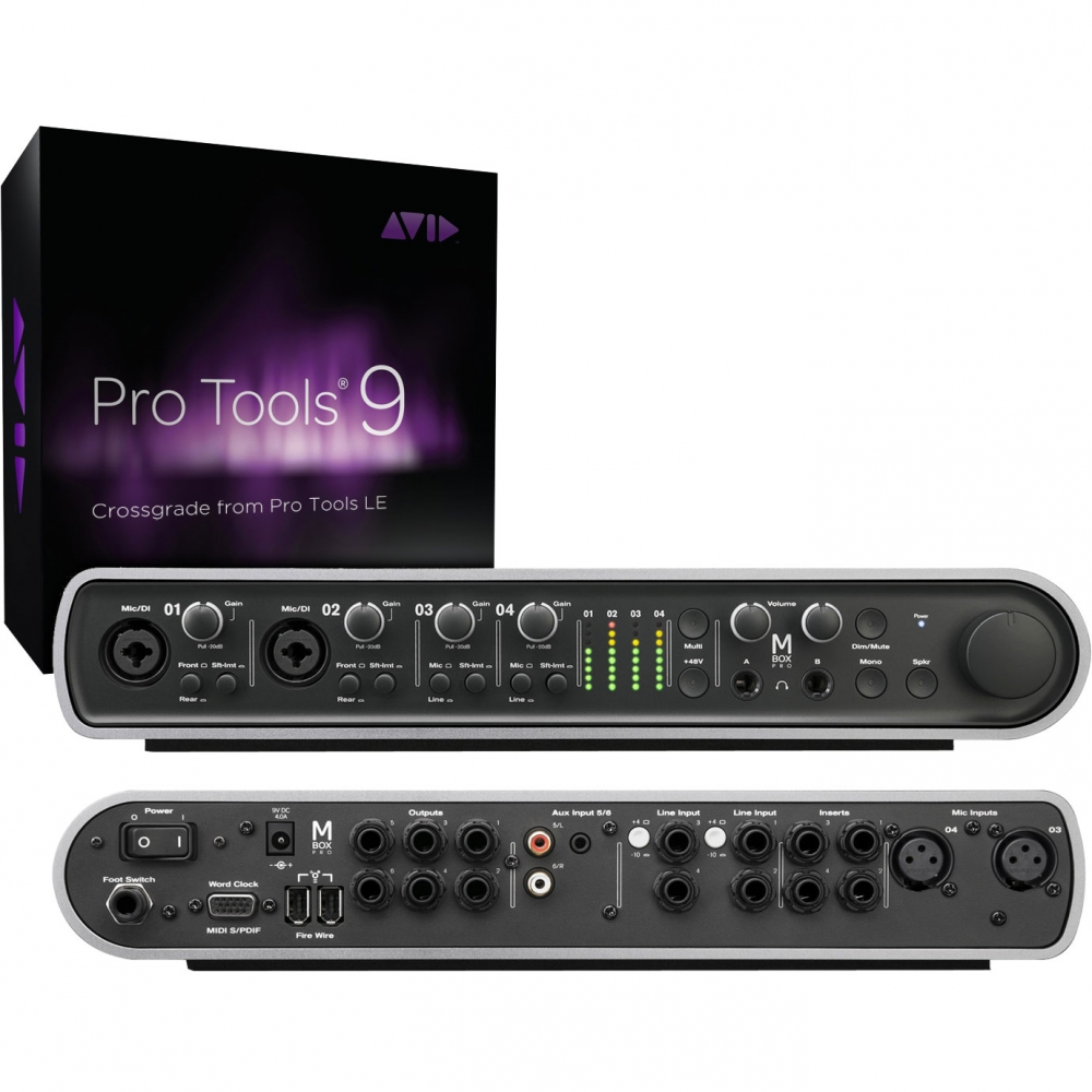 Звуковые карты USB/Thund. Avid Mbox with Pro Tools 9