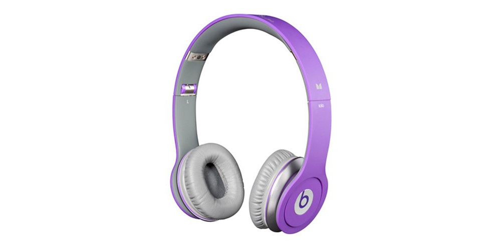 Наушники для плеера  Beats by Dr. Dre Solo HD Purple ControlTalk