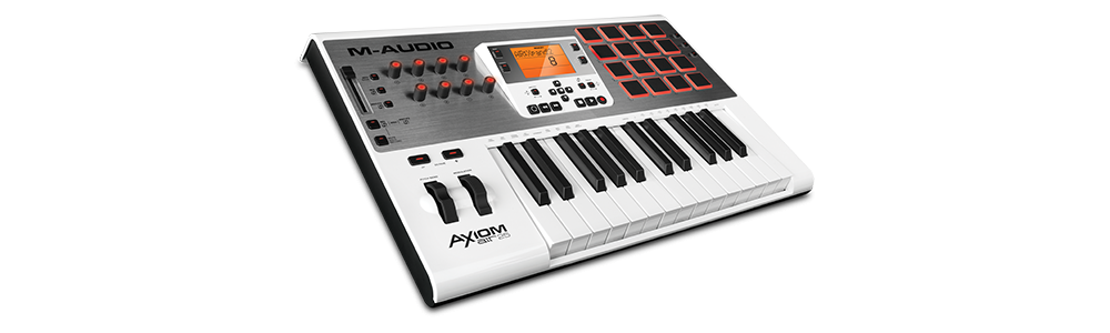 Midi-клавиатуры M-Audio AXIOM AIR 25 WH