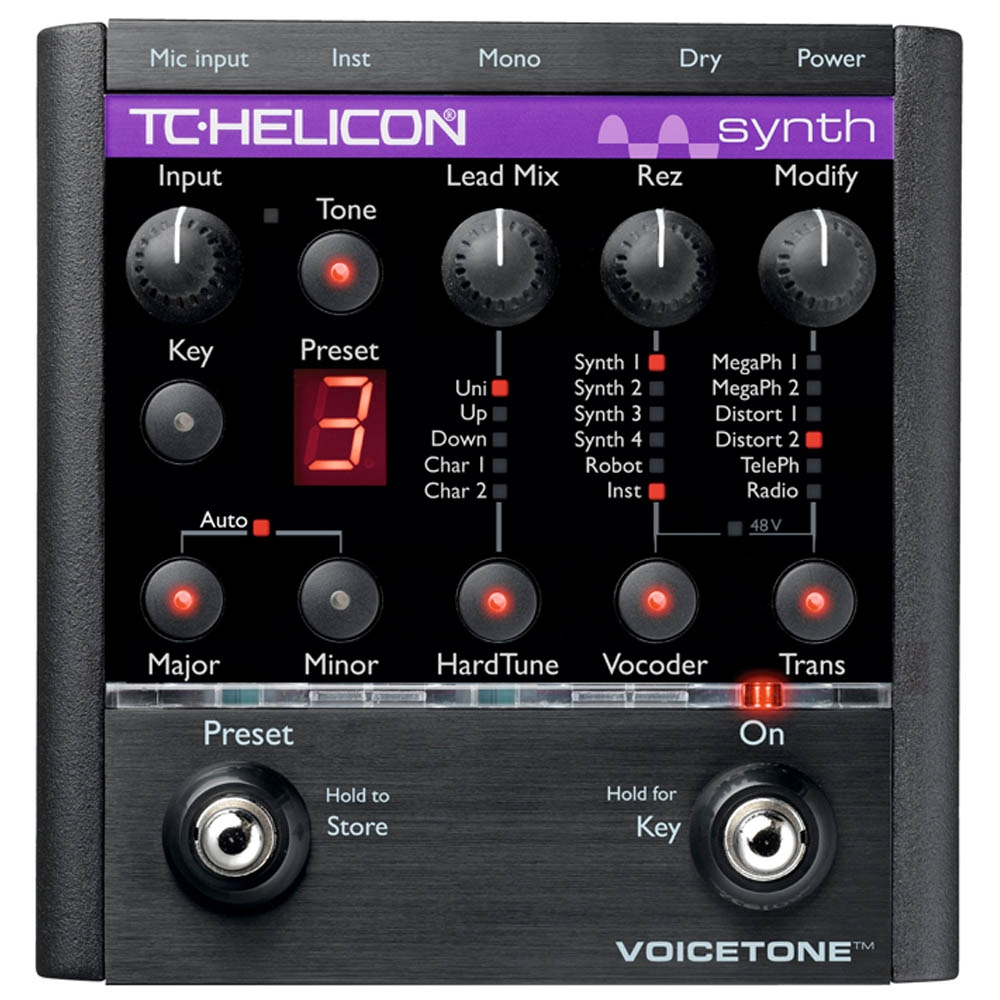 Процессоры эффектов TC-Helicon VoiceTone Synth