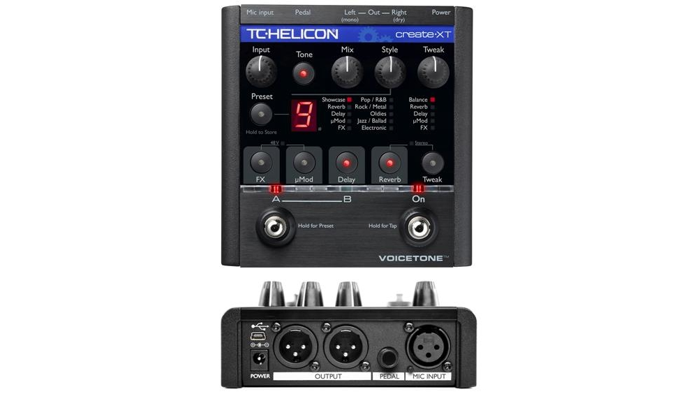 Процессоры эффектов TC-Helicon VoiceTone Create XT