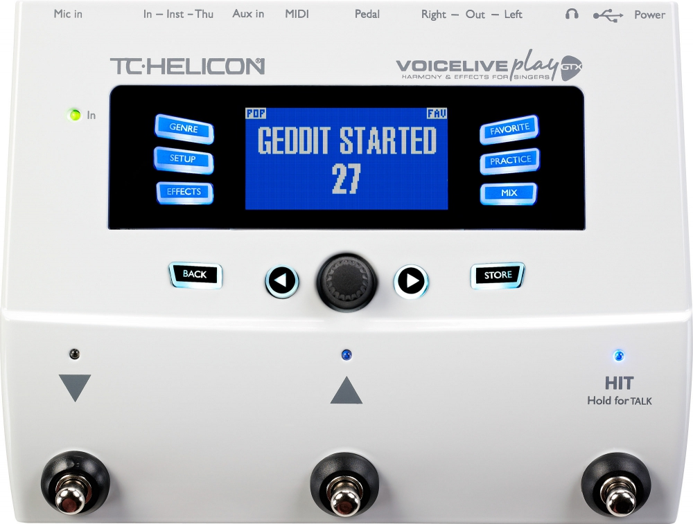 Процессоры TC-Helicon VoiceLive Play GTX