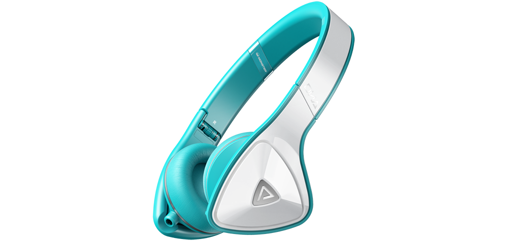 �������� ��� ������  Monster DNA On Ear White / Teal