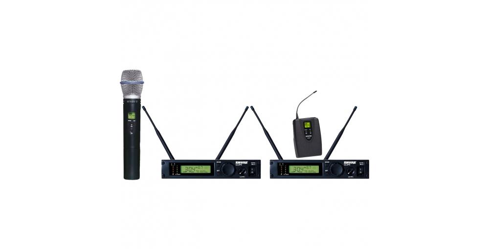 Все Микрофоны Shure ULXP124/BETA87A