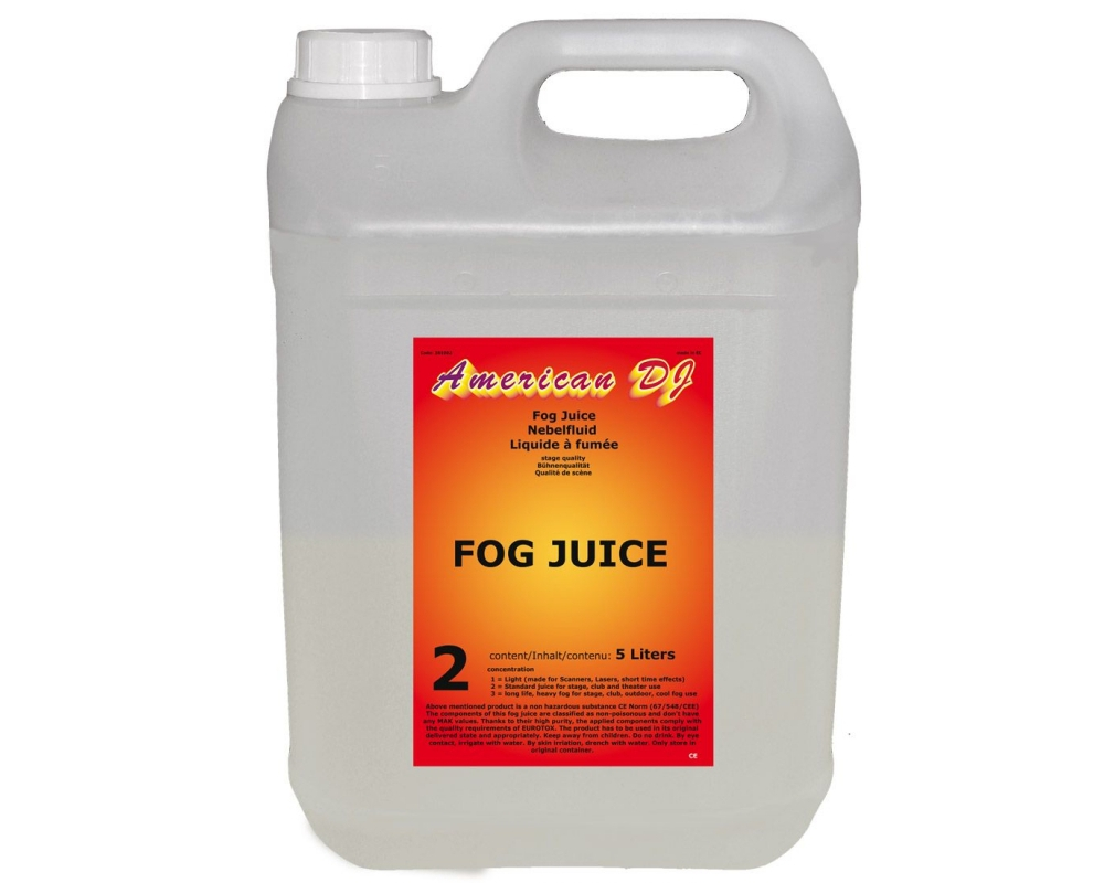 Спецэффекты American Audio Fog juice 2 medium 5L