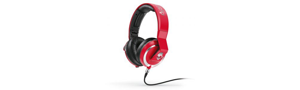 DJ-наушники Skullcandy MIX MASTER DJ Red W/MIC3