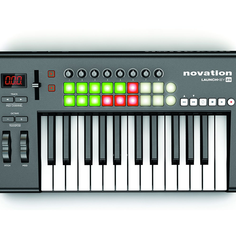 Midi-клавиатуры Novation launchkey 25