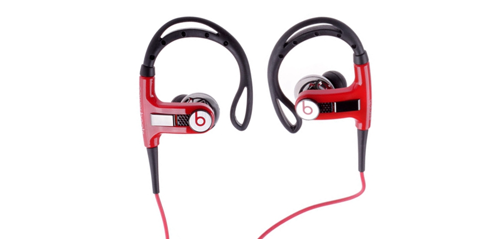 Наушники для плеера  Beats by Dr. Dre Powerbeats In-Ear Headphone Red