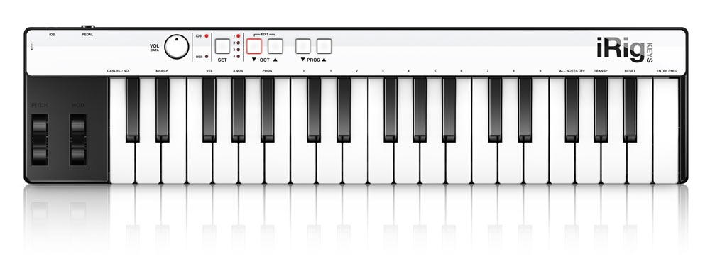 Midi-клавиатуры IK Multimedia iRig KEYS