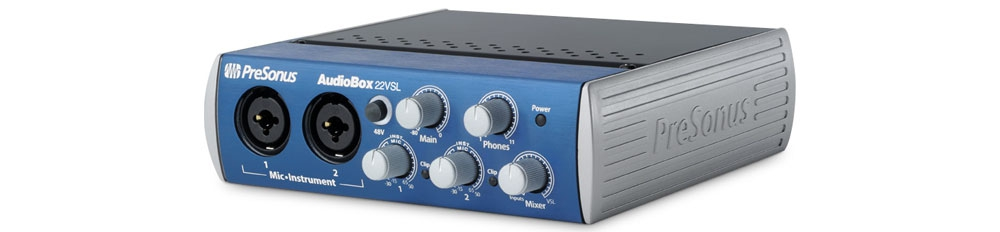 Звуковые карты USB/Thund. PRESONUS AudioBox 22VSL