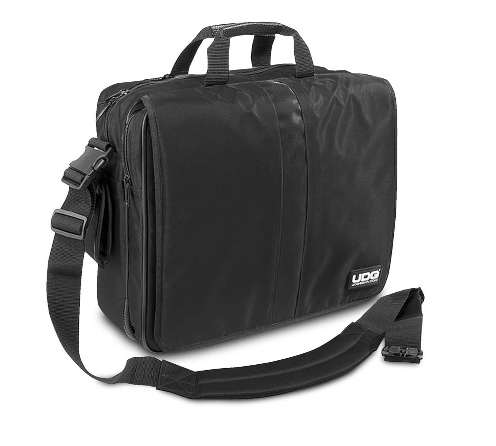 Сумки для пластинок UDG Ultimate CourierBag DeLuxe 17 Black, Orange i