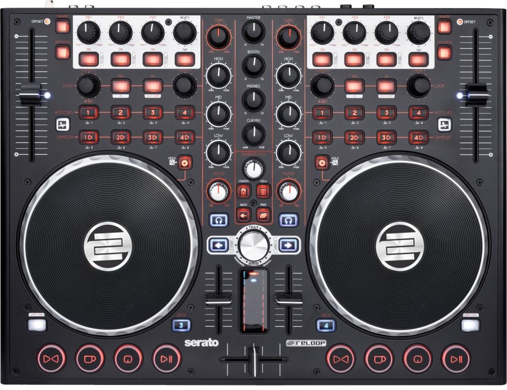 Reloop Terminal Mix 4 DJ Controller ASIO Drivers Windows