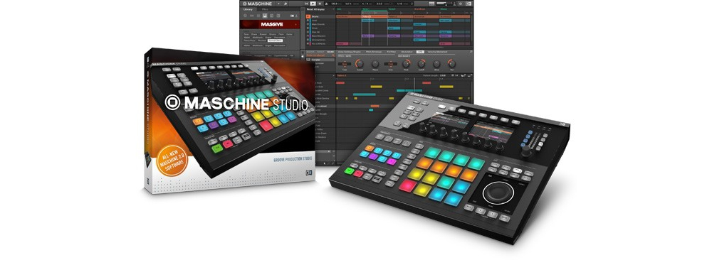 Сэмплеры Native Instruments Maschine Studio
