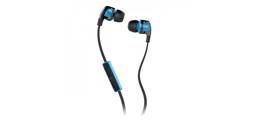 Наушники для плеера  Skullcandy Smokin Buds 2 Black Hot Blue w