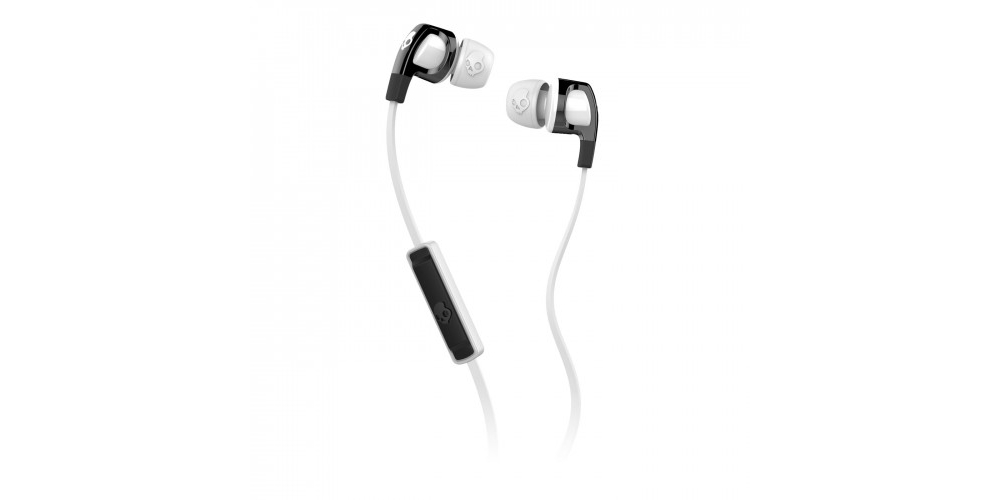 �������� ��� ������  Skullcandy Smokin Bud 2.0 Black/White Mic1